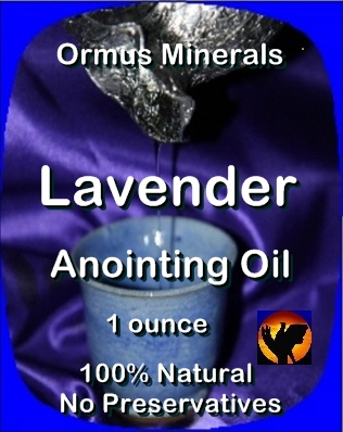 Ormus Minerals -Anointing Oil with LAVENDER