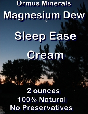 Ormus Minerals -Magnesium Dew Sleep Ease Cream